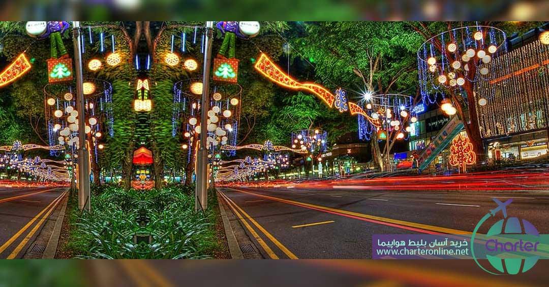 جاذبه های گردشگری سنگاپور