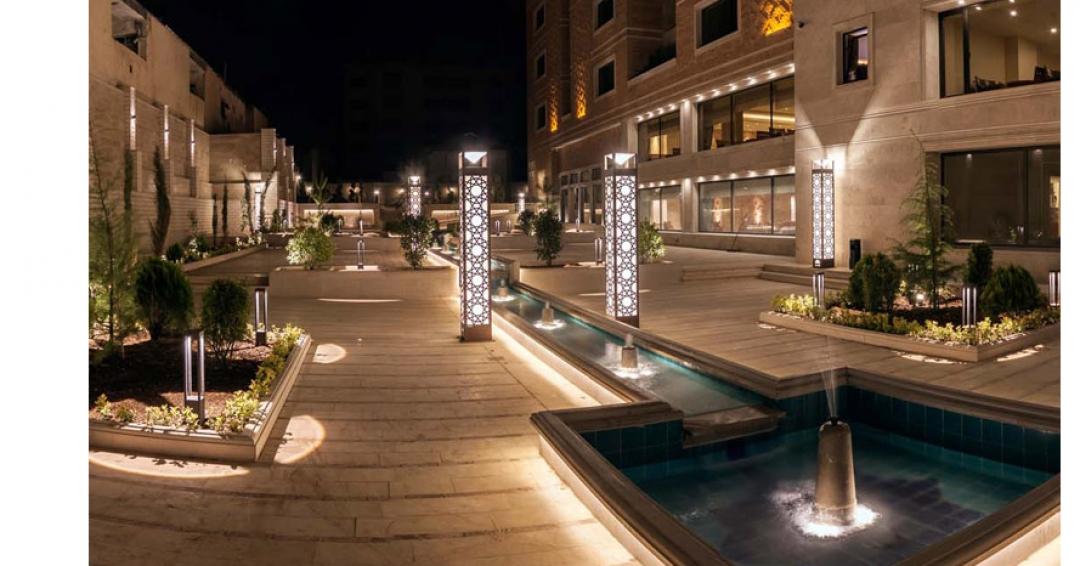 هتل پنج ستاره زندیه شیراز