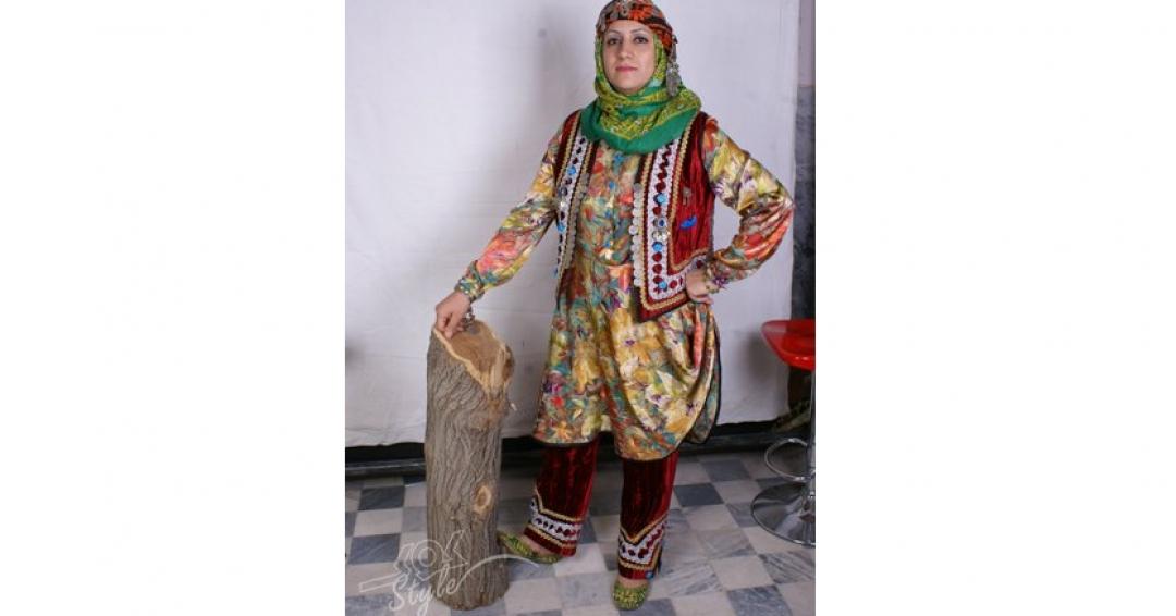 لباس محلی زنان لرستان