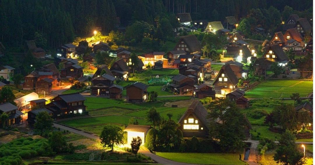 زیباترین روستاهای جهان