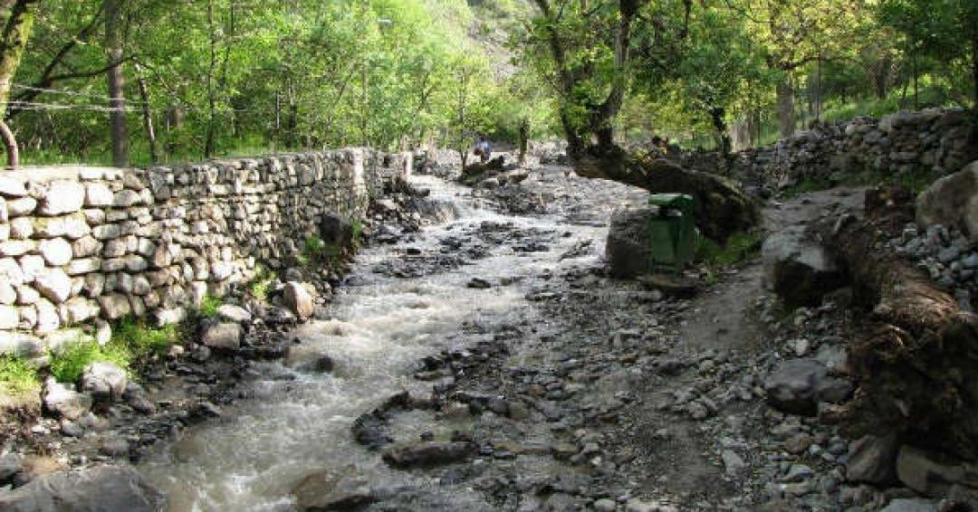 آبشار قره سو کلات خراسان رضوی